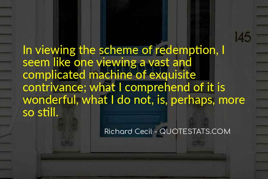Richard Cecil Quotes #442525