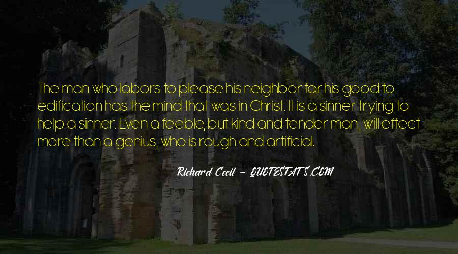 Richard Cecil Quotes #735743