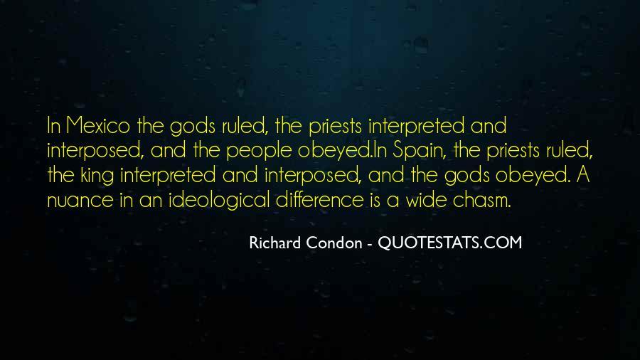 Richard Condon Quotes #444847