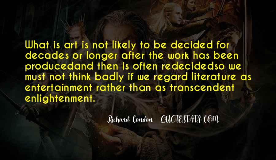 Richard Condon Quotes #589863