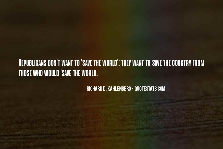 Richard D. Kahlenberg Quotes #675810