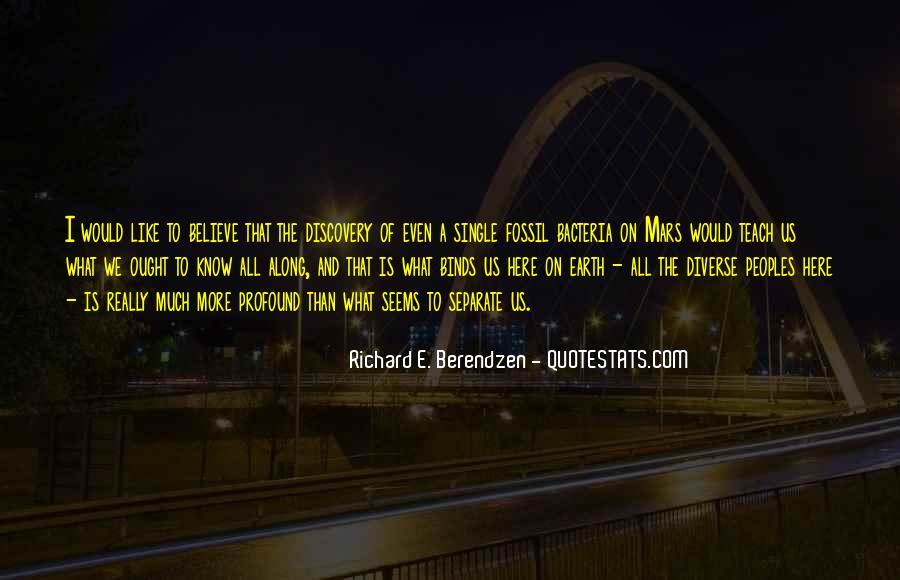 Richard E. Berendzen Quotes #1455461