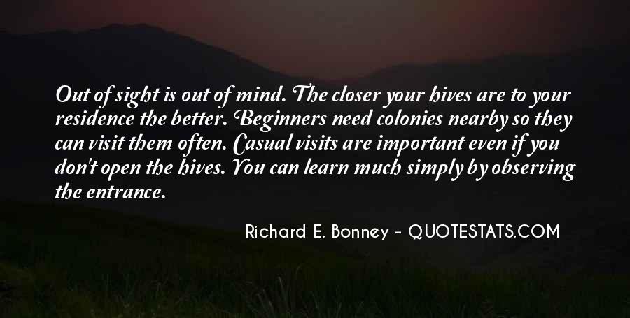 Richard E. Bonney Quotes #98255