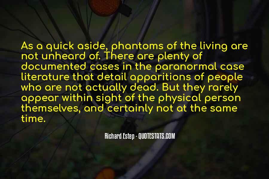 Richard Estep Quotes #634588