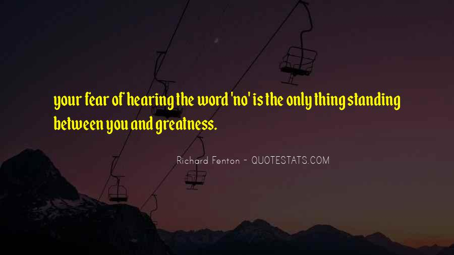 Richard Fenton Quotes #781156
