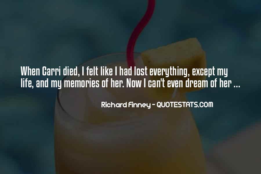 Richard Finney Quotes #144932