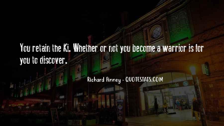 Richard Finney Quotes #1506658