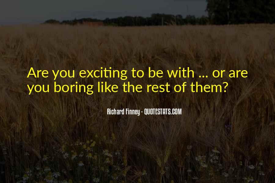 Richard Finney Quotes #723071