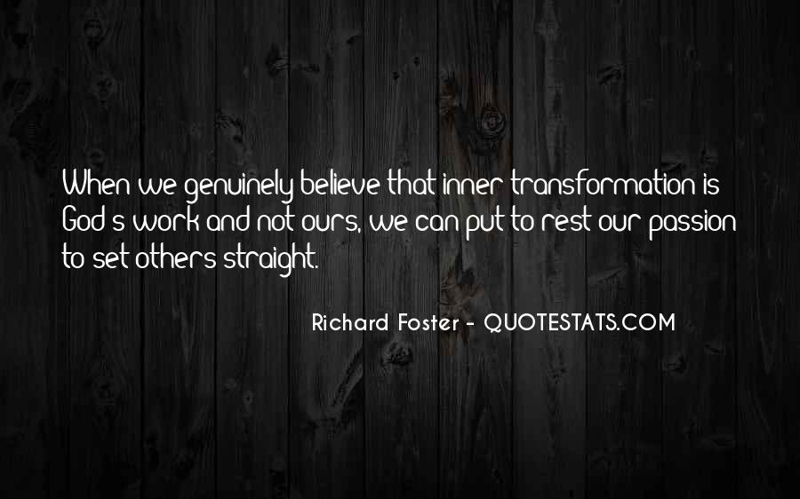 Richard Foster Quotes #1457308