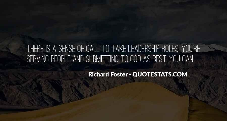 Richard Foster Quotes #266472