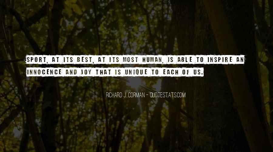 Richard J. Corman Quotes #189167