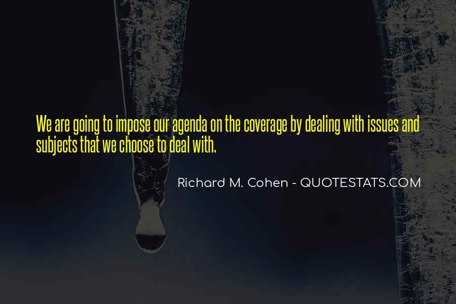 Richard M. Cohen Quotes #287594