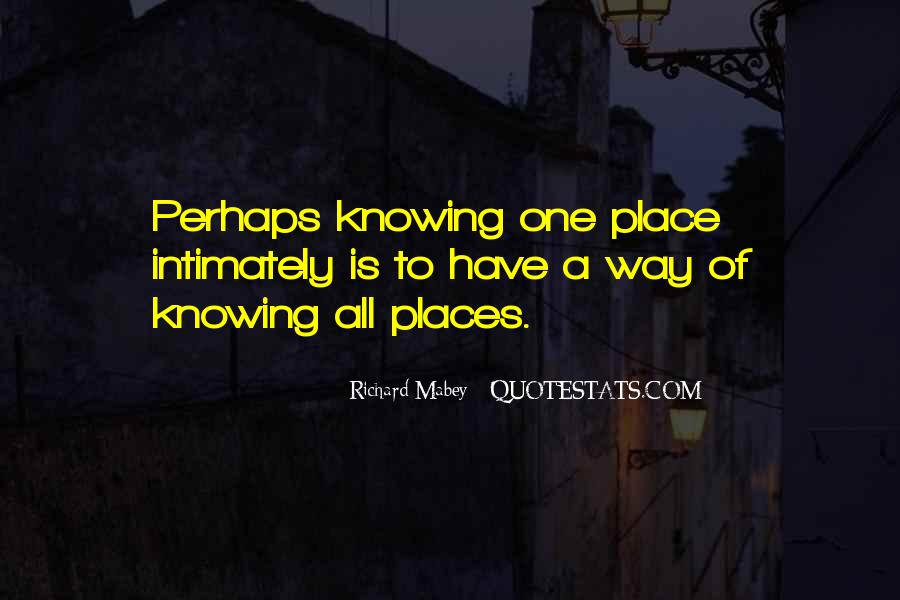 Richard Mabey Quotes #604765