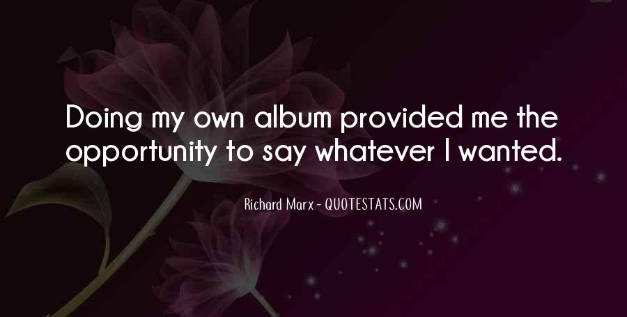 Richard Marx Quotes #73189