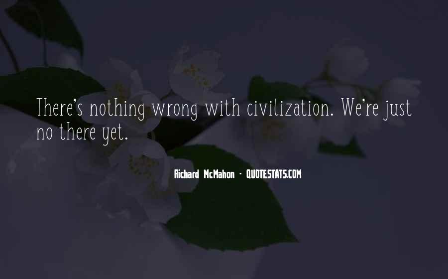 Richard McMahon Quotes #1128214