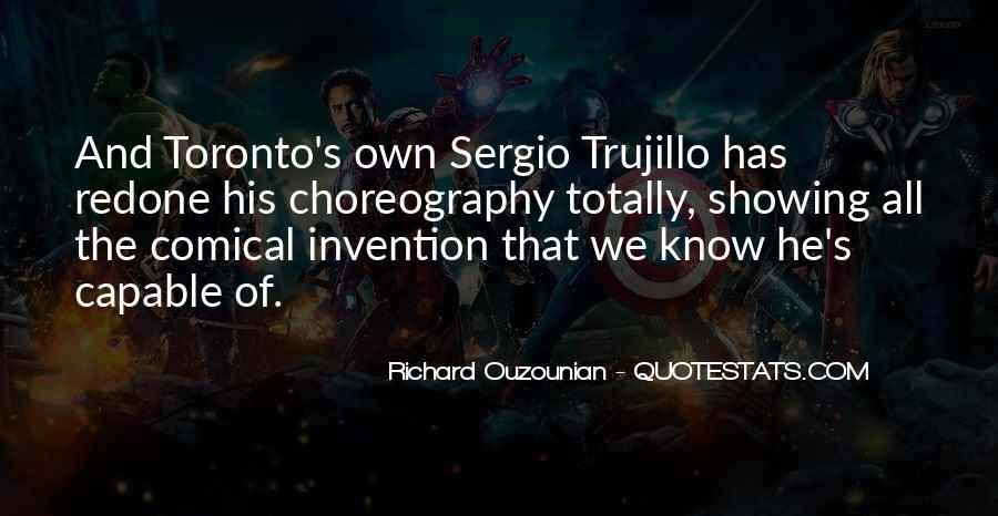 Richard Ouzounian Quotes #1618487