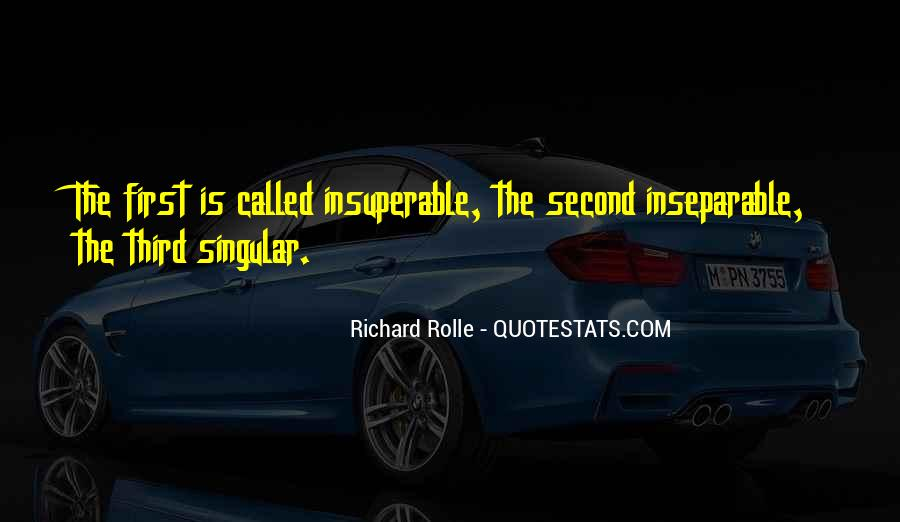 Richard Rolle Quotes #1649726