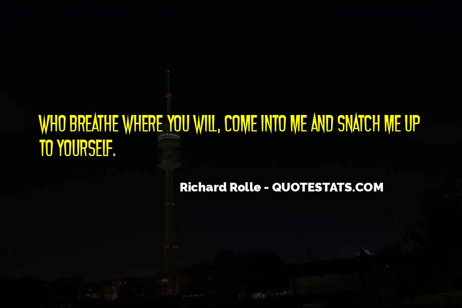 Richard Rolle Quotes #93610