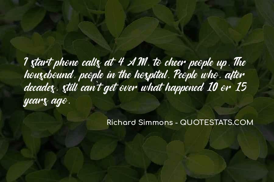 Richard Simmons Quotes #1184332