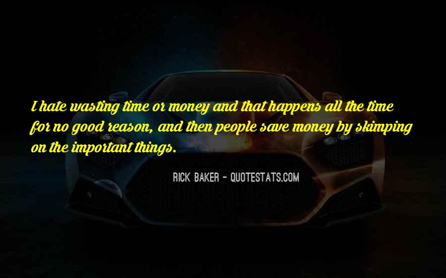 Rick Baker Quotes #1370896