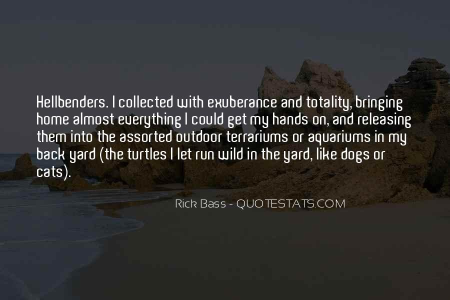 Rick Bass Quotes #1188107