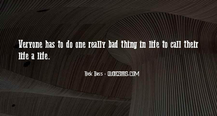 Rick Bass Quotes #15447