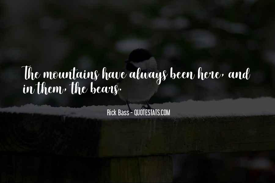 Rick Bass Quotes #913061