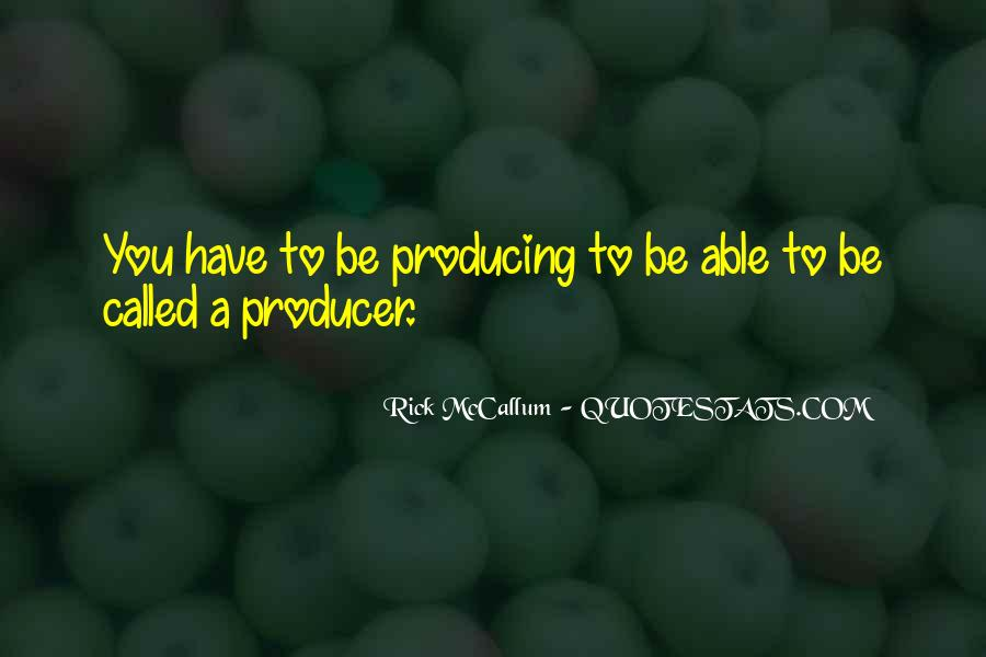 Rick McCallum Quotes #1698048