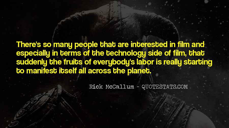 Rick McCallum Quotes #533888