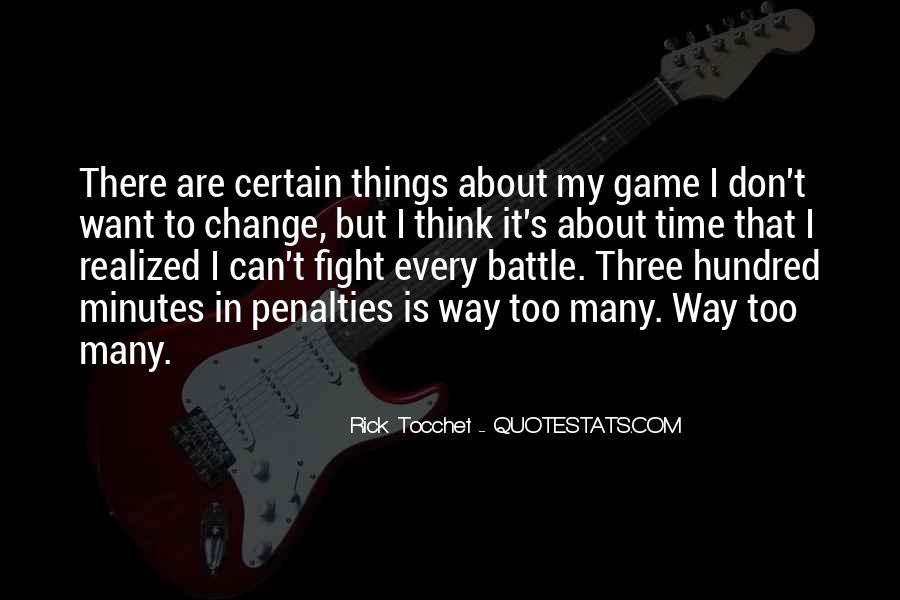 Rick Tocchet Quotes #492529