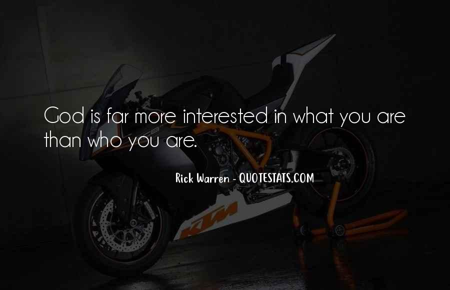 Rick Warren Quotes #1023447