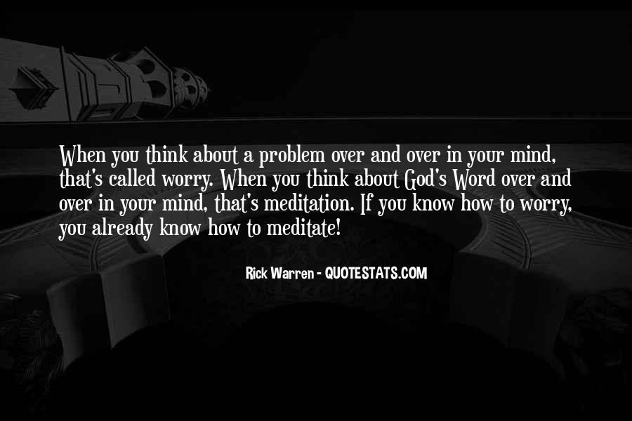 Rick Warren Quotes #1230811