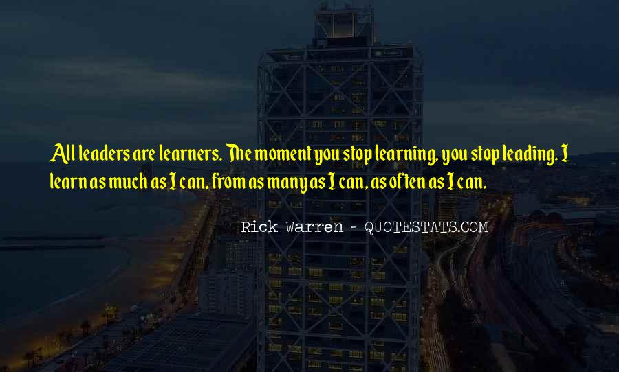 Rick Warren Quotes #1329880