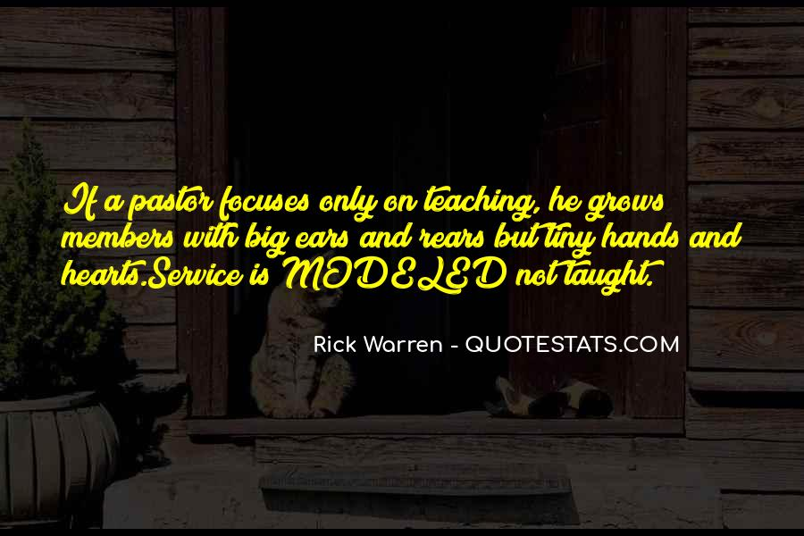 Rick Warren Quotes #1344248