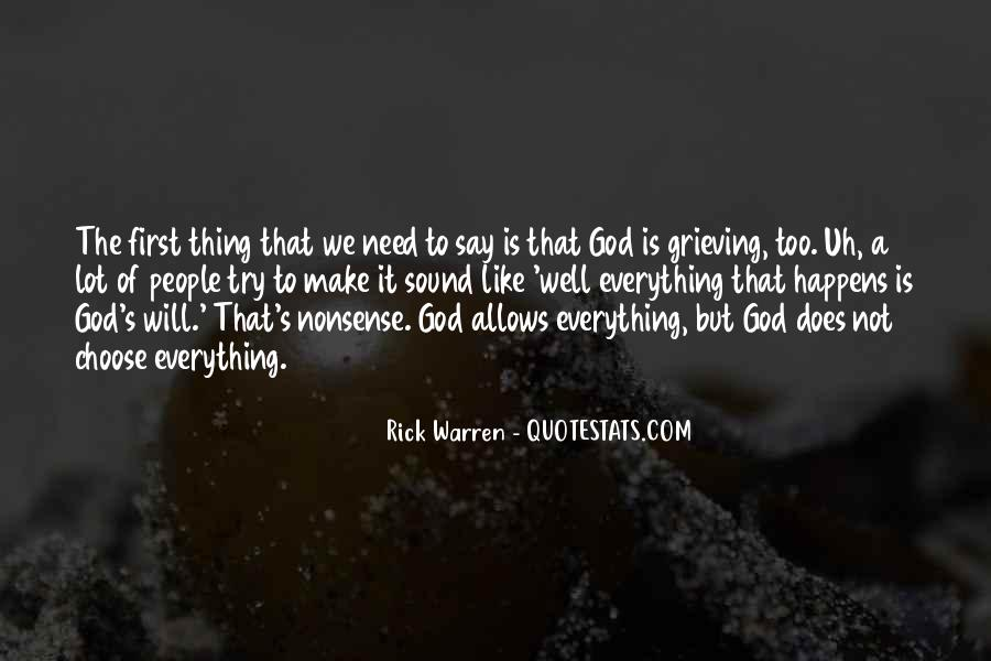 Rick Warren Quotes #1347213