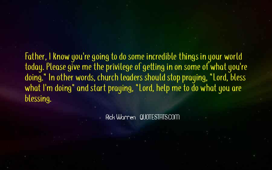 Rick Warren Quotes #1586604