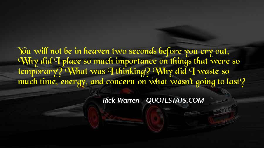 Rick Warren Quotes #1669758