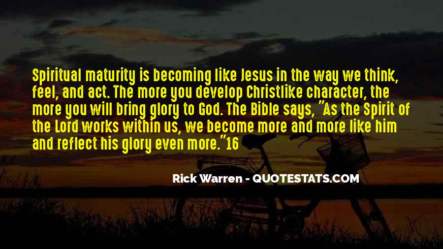 Rick Warren Quotes #191570