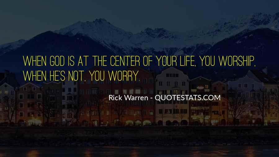 Rick Warren Quotes #568666