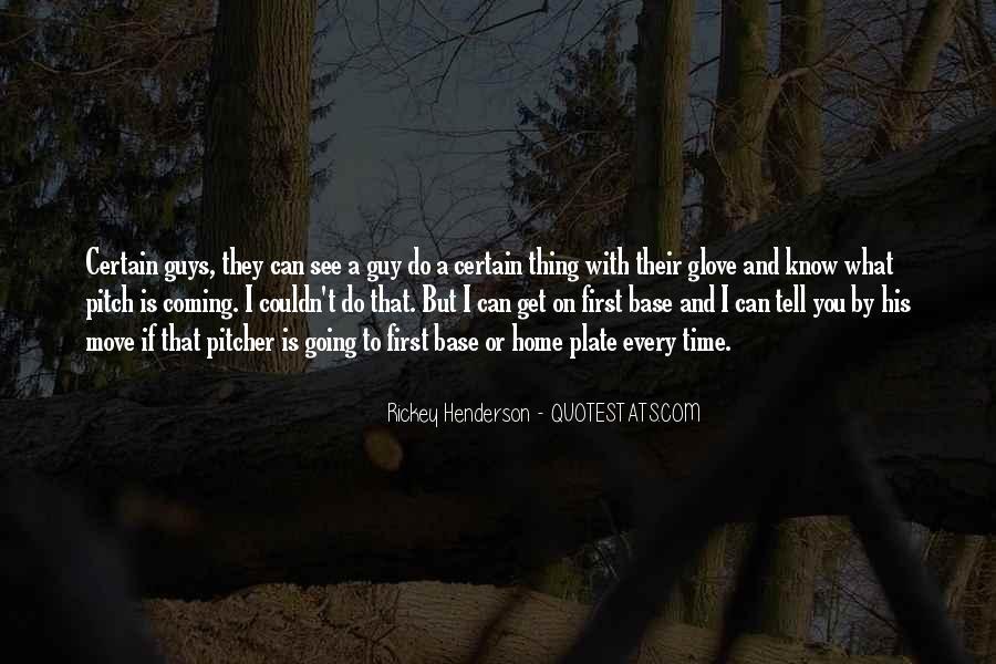 Rickey Henderson Quotes #1052768