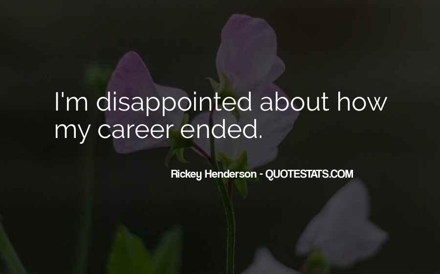 Rickey Henderson Quotes #1095276