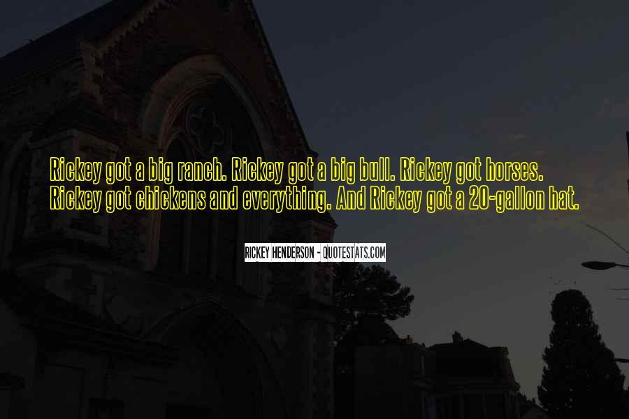 Rickey Henderson Quotes #1142313