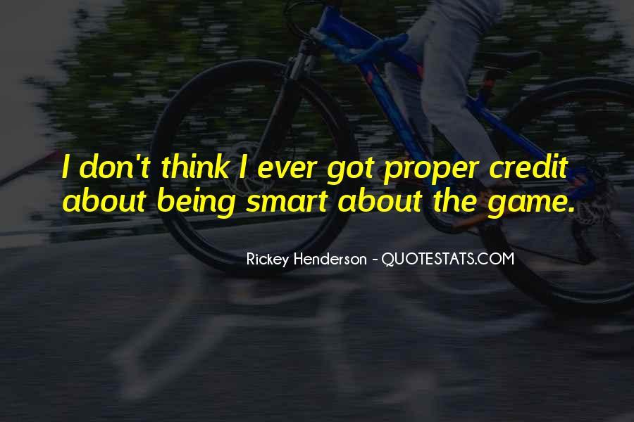 Rickey Henderson Quotes #1357223