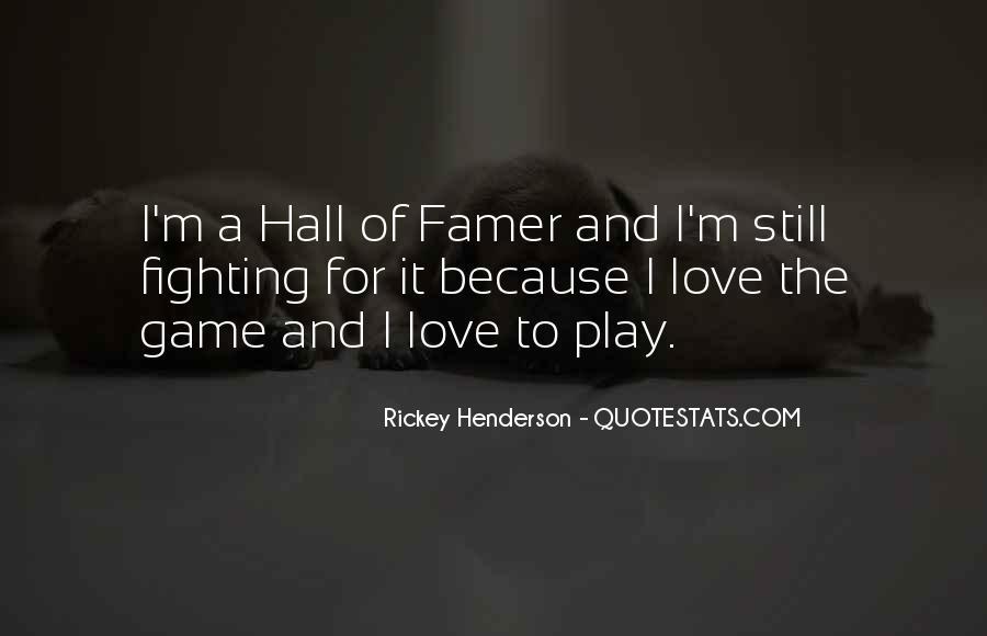 Rickey Henderson Quotes #1404802