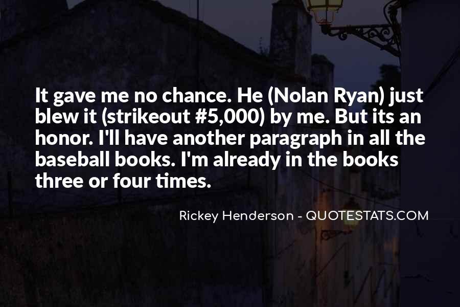 Rickey Henderson Quotes #1527280