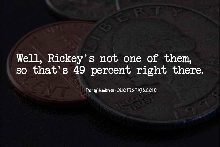 Rickey Henderson Quotes #15398