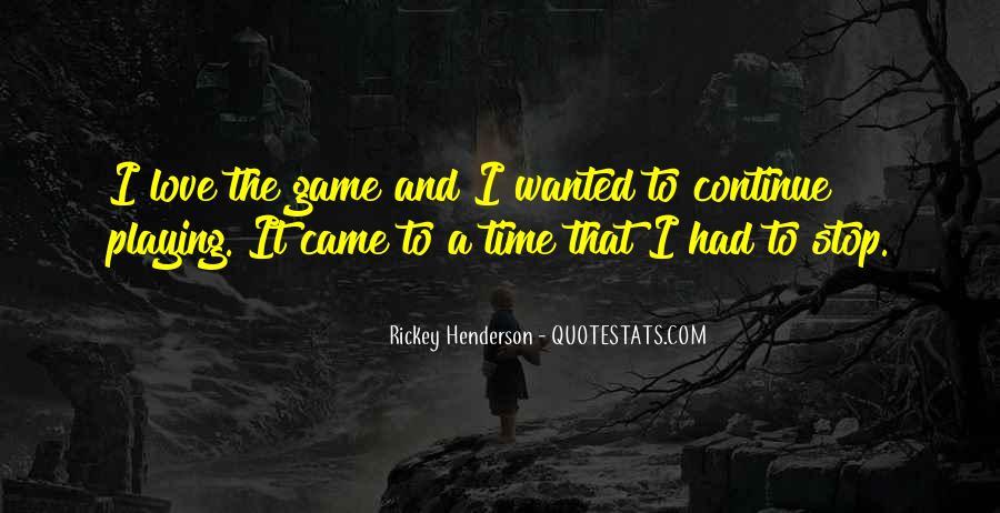 Rickey Henderson Quotes #1568865