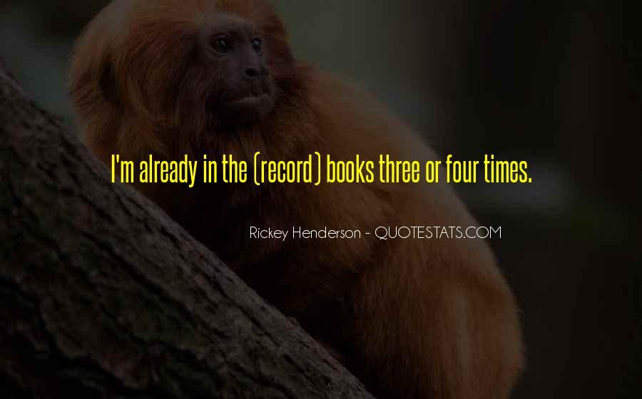 Rickey Henderson Quotes #231661
