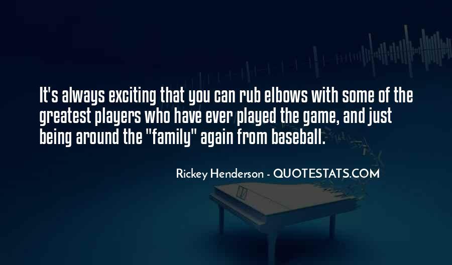Rickey Henderson Quotes #242228
