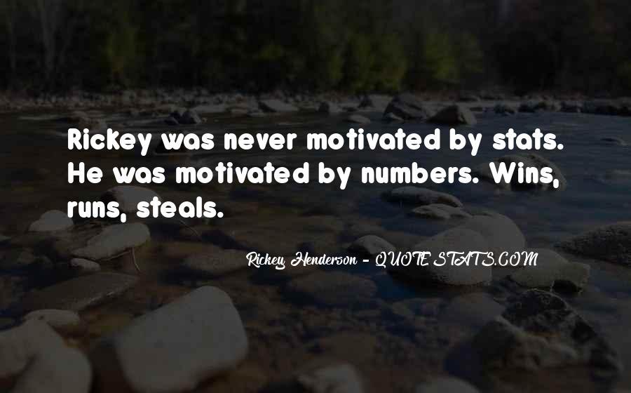 Rickey Henderson Quotes #303620